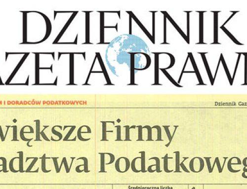 Iº lugar na voivodia łódzkie – Ranking das Maiores Empresas de Consultoria Fiscal