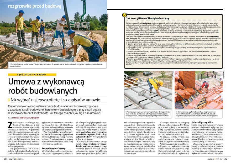 Zmiany w prawie budowlanym 2019